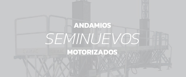 Equipos usados Andamios Seminuevos