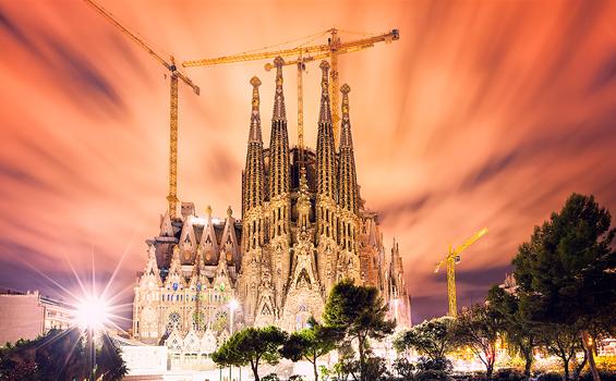 Obras Emblematicas - Basílica Sagrada Familia