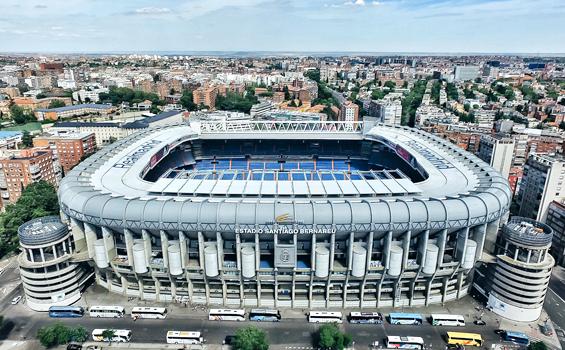 Obras Emblematicas - Estadio Santiago Bernabéu