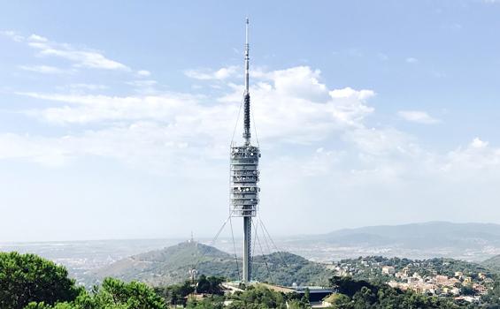 Obras Emblematicas - Torre de Collserola